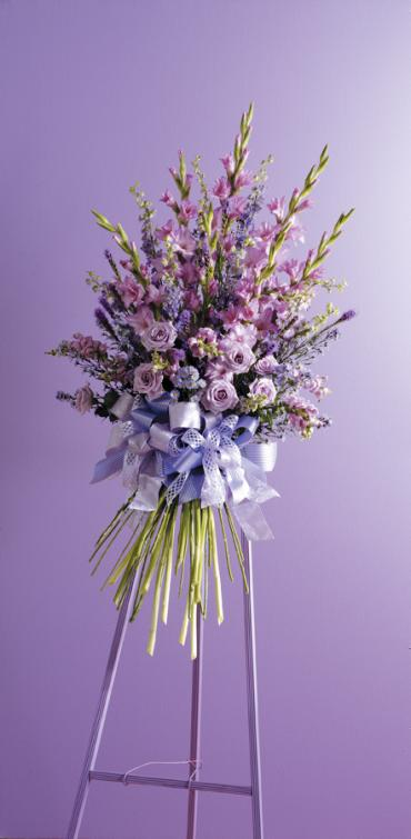 Faux Hand-Tied Bouquet Spray