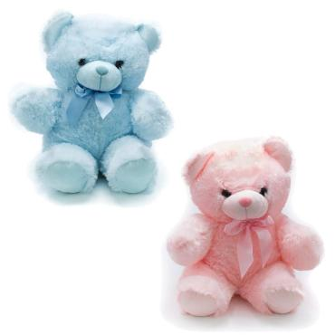 "18"" Blue or Pink Bear"