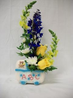 Baby Keepsake Arrangement