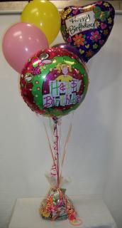 Candy & Balloon Bouquet